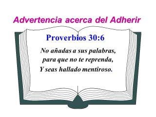 Proverbios 30-6